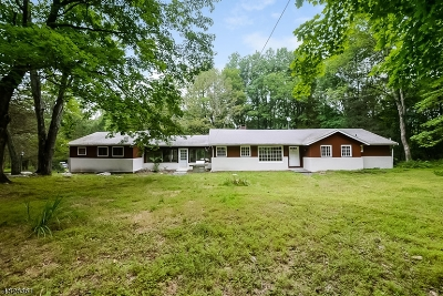 Tewksbury Twp. Single Family Home For Sale: 60 Philhower Rd