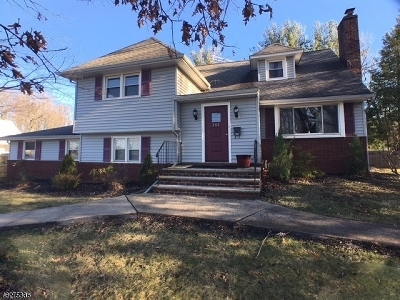 Cranford Twp. Rental For Rent: 207 Rankin Ave
