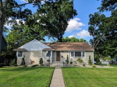 Cranford Twp. Single Family Home For Sale: 102 Beech St