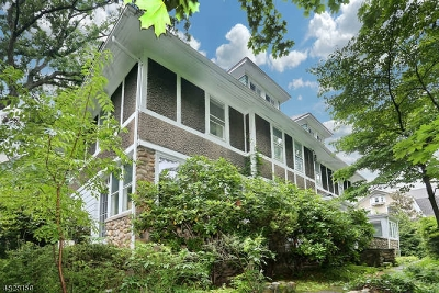Glen Rock Boro Single Family Home For Sale: 60 Midwood Rd