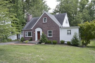 Millburn Twp. Single Family Home For Sale: 118 Hobart Ave