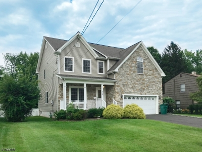 Westfield Town NJ Single Family Home For Sale: $890,000