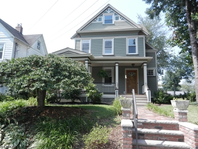 Cranford Twp. Rental For Rent: 18 Arlington Rd