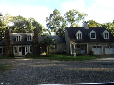 Bernardsville Boro Single Family Home For Sale: 351 Mt Harmony Rd