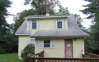 Rockaway Twp. Single Family Home For Sale: 7 Dudak Rd