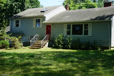 Parsippany-Troy Hills Twp. Single Family Home For Sale: 11 Friar Rd