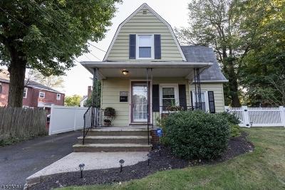 Mountainside Boro Single Family Home For Sale: 513 Woodland Ave