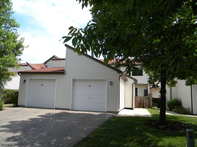 Hunterdon County Condo/Townhouse For Sale: 25 Angus Rd