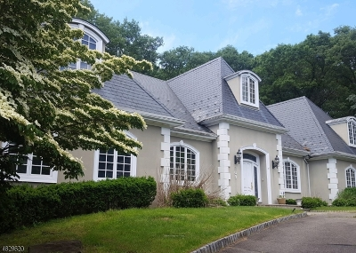Franklin Lakes Boro Single Family Home For Sale: 809 Lenel Ln