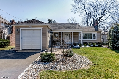 Springfield Twp. Single Family Home For Sale: 10 Warwick Cir