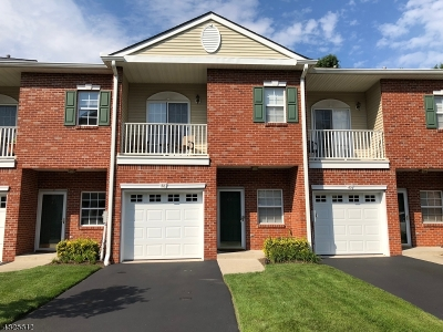 Somerset County, Morris County Condo/Townhouse For Sale: 48 Windsor Dr