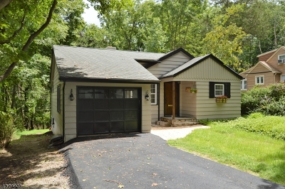 Sparta Twp. Single Family Home For Sale: 27 Shawnee Trl