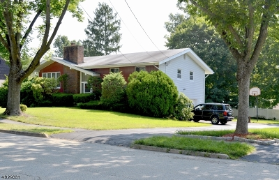 Parsippany-Troy Hills Twp. Single Family Home For Sale: 9 Jagged Rock Rd