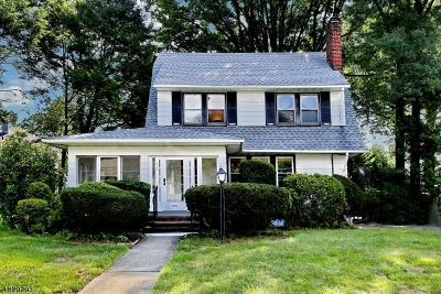 Glen Rock Boro Single Family Home For Sale: 209 Harding Rd