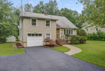 Livingston Twp. Single Family Home For Sale: 18 Tuscan Rd