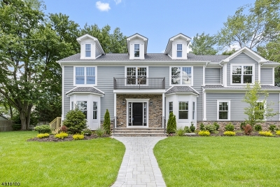 Westfield Town NJ Single Family Home For Sale: $1,139,000
