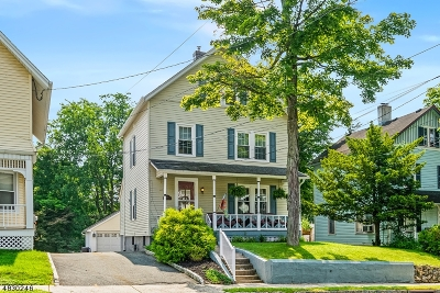 Morristown Town Single Family Home For Sale: 53 Mills St