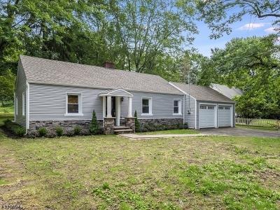 Mendham Boro, Mendham Twp. Single Family Home For Sale: 5 Maple Ave