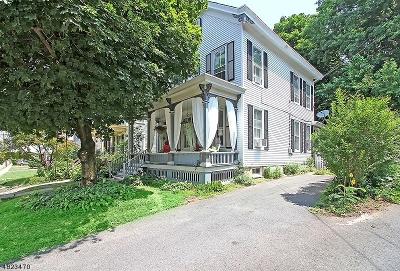 Flemington Boro Single Family Home For Sale: 11 Park Ave