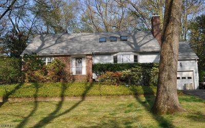 Montville Twp. NJ Single Family Home For Sale: $424,000