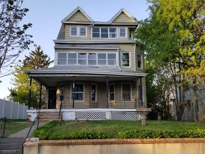 Passaic City Multi Family Home For Sale: 76 Lafayette Ave