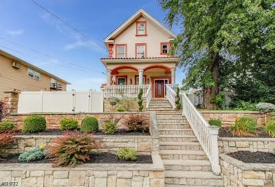 Kearny Town Single Family Home For Sale: 535 Chestnut St
