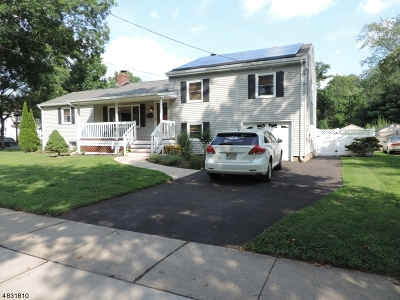 Cranford Twp. Single Family Home For Sale: 34 Central Ave