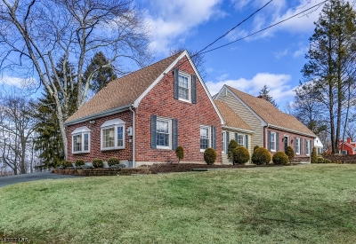 Long Hill Twp Single Family Home For Sale: 1632 Long Hill Rd