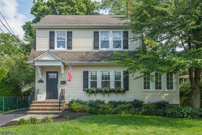 Chatham Boro Single Family Home For Sale: 63 Fairmount Ave