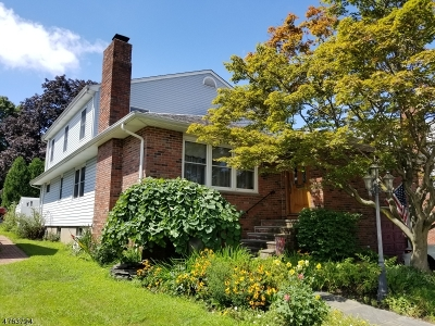 Totowa Boro Single Family Home For Sale: 31 Redman Pl