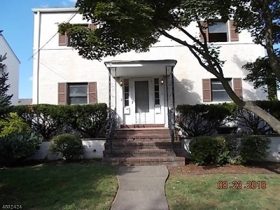 Cranford Twp. Multi Family Home For Sale: 119 Roosevelt Ave
