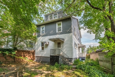 Bloomfield Twp. Single Family Home For Sale: 34 E Passaic Ave