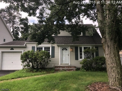 Scotch Plains Twp. Single Family Home For Sale: 418 Evergreen Blvd