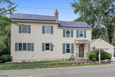 Wayne Twp. Single Family Home For Sale: 381 Black Oak Ridge Rd