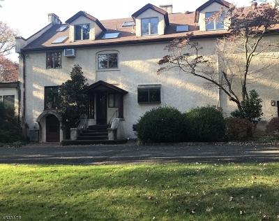 Mountainside Single Family Home For Sale: 600 Sherwood Pky