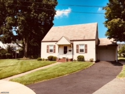 Haledon Boro Single Family Home For Sale: 1 Cliff Ct