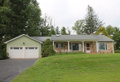 Tewksbury Twp. Single Family Home For Sale: 88 Deer Hill Rd