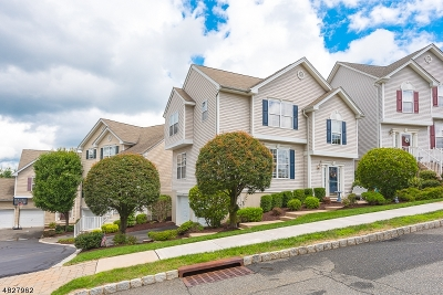 Mount Olive Twp. Condo/Townhouse Active Under Contract: 50 Brock Ln