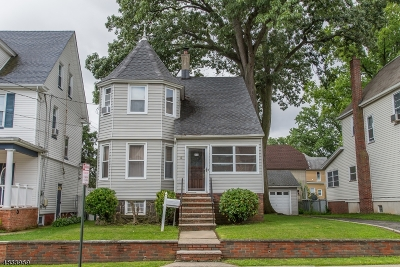 Kearny Town Single Family Home For Sale: 160 Stewart Ave