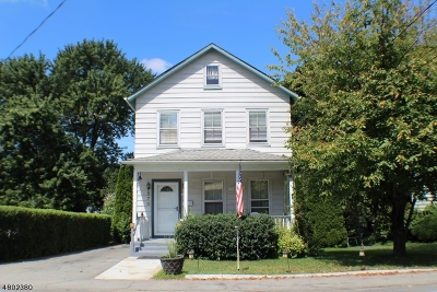 Roxbury Twp. Single Family Home For Sale: 270 Center St