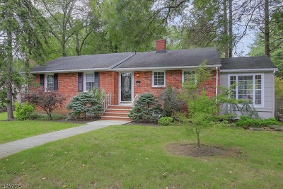 Fanwood Boro Single Family Home For Sale: 92 Midway Ave