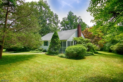 Bernardsville Boro Single Family Home For Sale: 54 Hull Rd