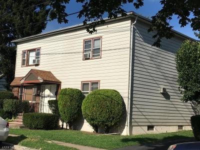 Haledon Boro Multi Family Home For Sale: 340 Hobart Ave