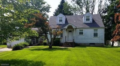 Franklin Twp. Single Family Home For Sale: 275 Cedar Grove Ln