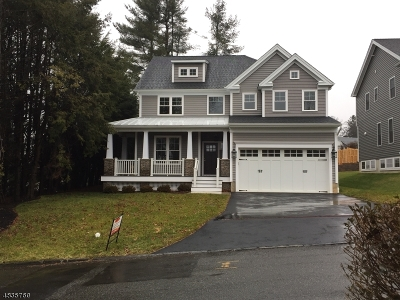 Bernardsville Boro Single Family Home For Sale: 2 Wesley Ave