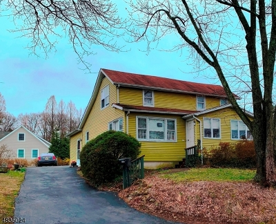 Wyckoff Twp. Single Family Home For Sale: 201 Hillside Ave