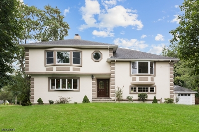 Scotch Plains Twp. Single Family Home For Sale: 1248 Maple Hill Rd