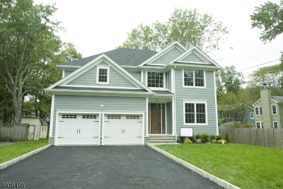 New Providence Single Family Home For Sale: 15 Crescent Drive