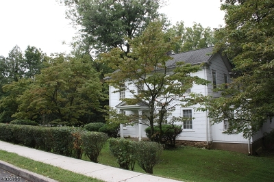 Peapack Gladstone Boro Single Family Home For Sale: 139 Main St