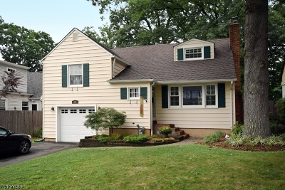 Fanwood Boro Single Family Home For Sale: 107 2nd St